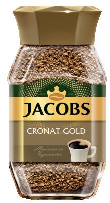 Разтворимо кафе Jacobs Cronat Gold