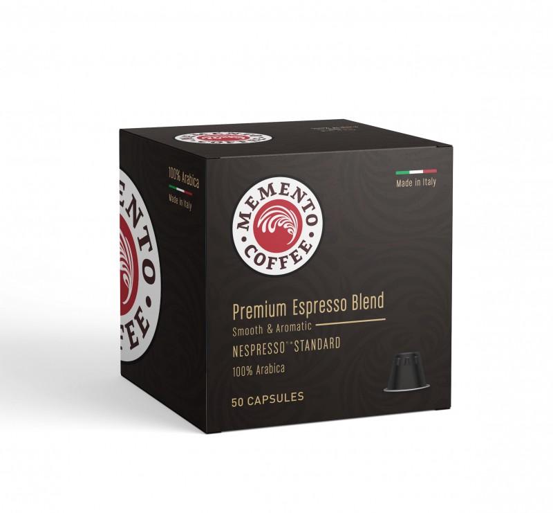 Кафе капсули Memento Premium Nespresso standard