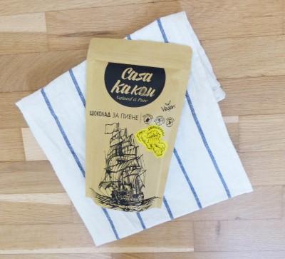 Занаятчийски, ръчен шоколад за пиене Casa Kakau джинджифил