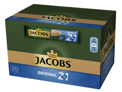 Разтворимо кафе Jacobs 2in1 Original