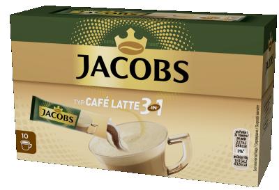 Разтворимо кафе Jacobs 3in1 Latte