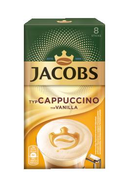 Разтворимо кафе Jacobs Cappuccino vanilla