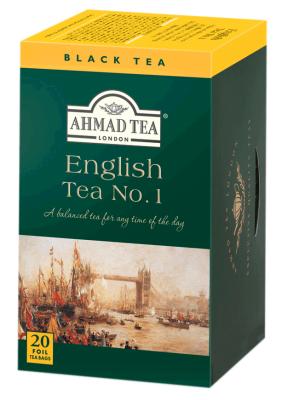 Черен чай AHMAD English No.1 с лек аромат на бергамот