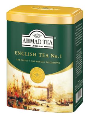 Насипен черен чай AHMAD English №1 с лек аромат на бергамот