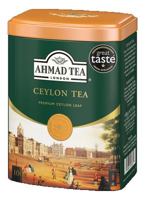 Насипен черен чай AHMAD Ceylon
