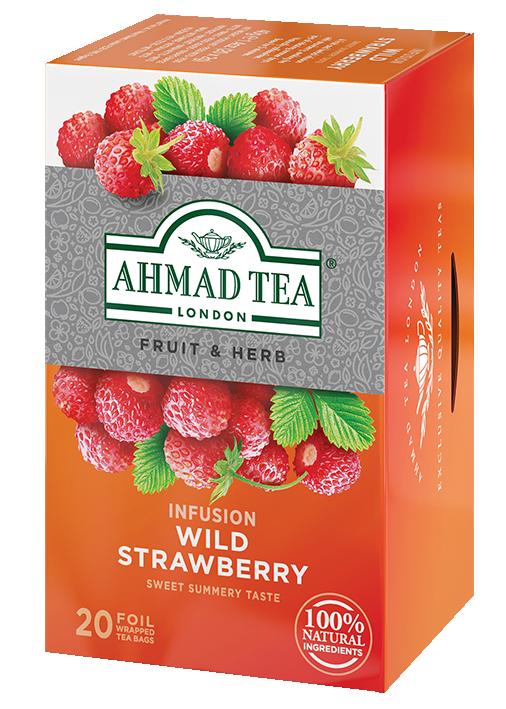 Плодов чай AHMAD Wild strawberry