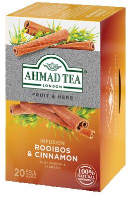 Плодово билков чай AHMAD Rooibos & Cinnamon