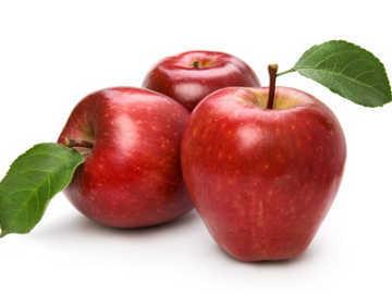 Червена ябълка от Дегустос едра