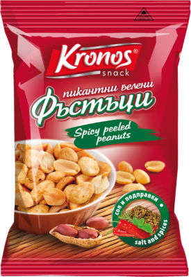 Пикантен фъстък Kronos snack белен