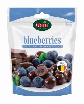 Синя Боровинка в Черен Шоколад Rois