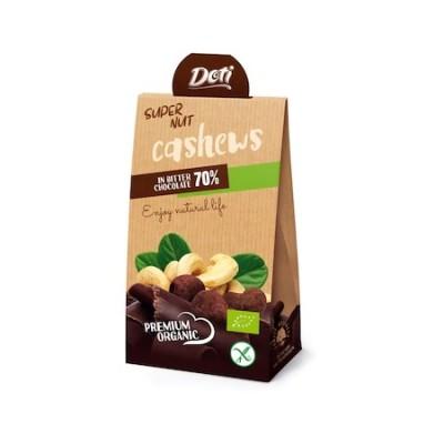 Органични бонбони DOTI кашу в био шоколад