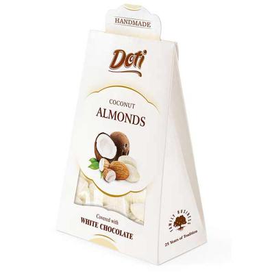 Бонбони DOTI бадеми в бял шоколад и кокос