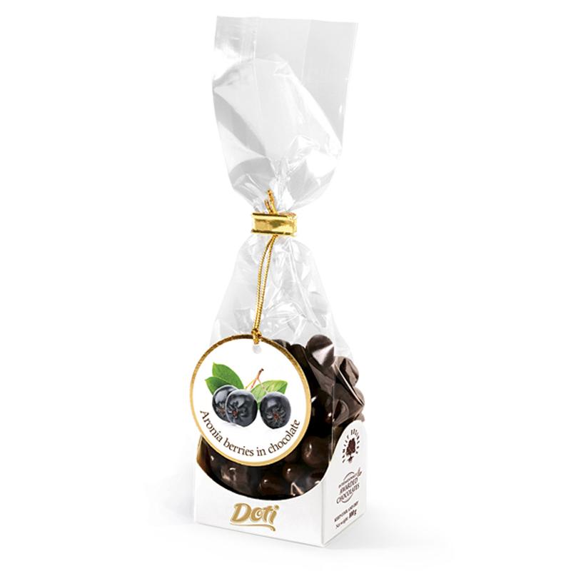 Бонбони Doti арония с черен шоколад