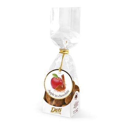 Бонбони Doti ябълки с канела в черен шоколад