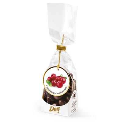 Бонбони Doti червени боровинки в черен шоколад