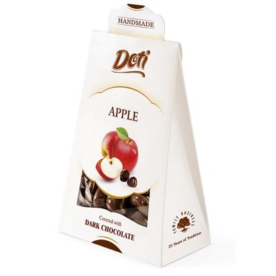Бонбони DOTI ябълки с черен шоколад