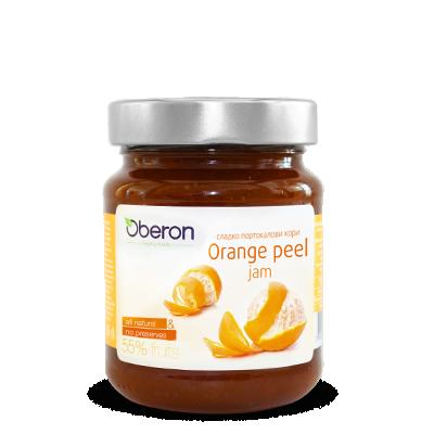 Конфитюр портокалови кори 55% плод Oberon