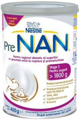 Nestle Pre Nan Мляко за недоносени бебета