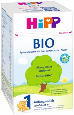 HIPP 1 BIO Мляко за кърмачета (от първия ден)