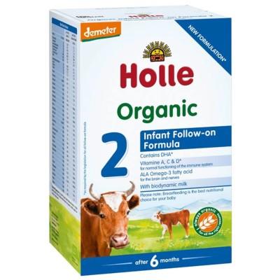 БИО Адаптирано краве мляко Holle за кърмачета Формула 2