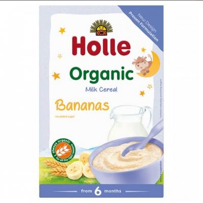 Млечна каша Holle с банани