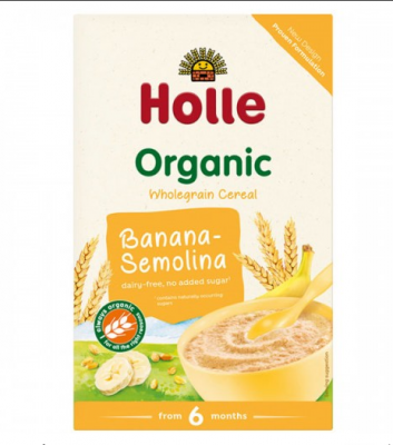 Плодова каша Holle грис и банан