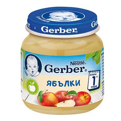 Пюре Gerber Ябълка