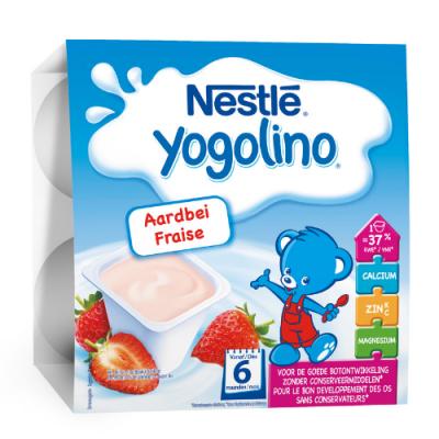 Млечен десерт Yogolino Ягода
