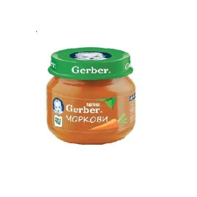 Пюре Gerber Моркови