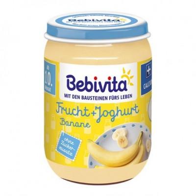 Пюре Bebivita йогурт с плодове - банани