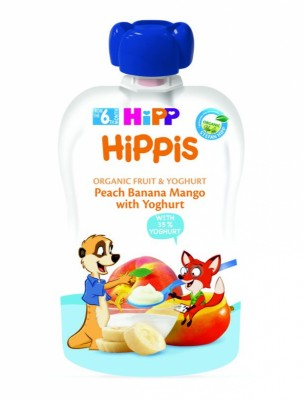 БИО Плодова закуска HiPP банан, манго, йогурт