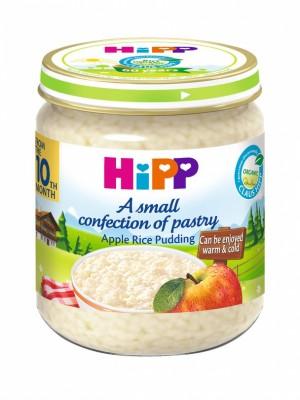 БИО Мляко с ориз и ябълка HiPP
