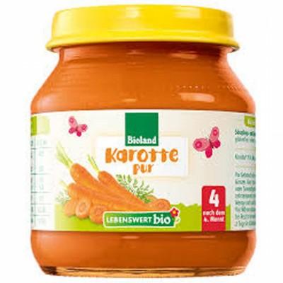 БИО Пюре Lebenswert bio морков