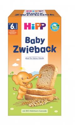 БИО Бебешки сухари HiPP