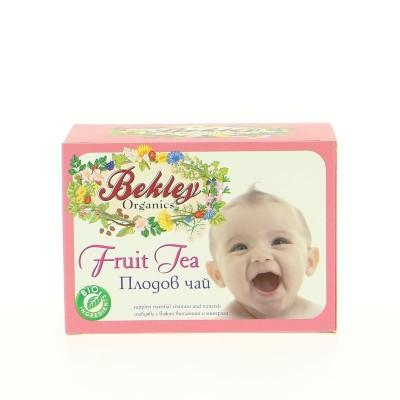 Бебешки чай Bekley Organics плодов