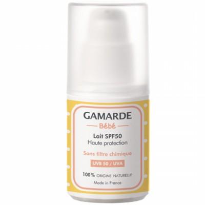 Слънцезащитно мляко за бебета GAMARDE фактор SPF50
