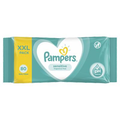 Мокри кърпички Pampers Sensitive XLL pack