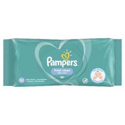 Мокри кърпички Pampers Fresh Clean