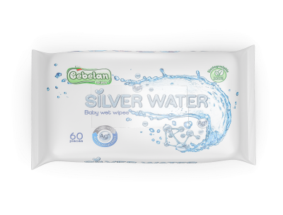 Бебешки мокри кърпи Bebelan Silver Water