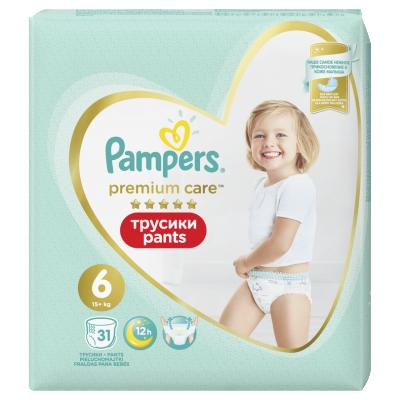 Пелени гащички Pampers Premium Care S6 15+ кг