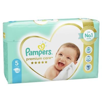 Бебешки пелени Pampers Premium Care S5 Junior 11-16 кг