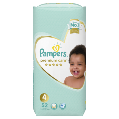 Бебешки пелени Pampers Premium Care S4 Maxi 9-14 кг