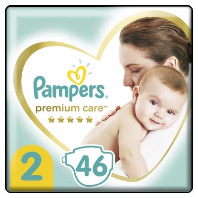 Бебешки пелени Pampers Premium Care S2 Mini 4-8 кг