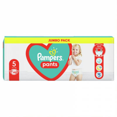 Пелени Гащички Pampers Jumbo Pack S5 Junior 12-17 кг