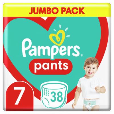 Пелени Гащички Pampers Jumbo Pack S7 XL 17+ кг