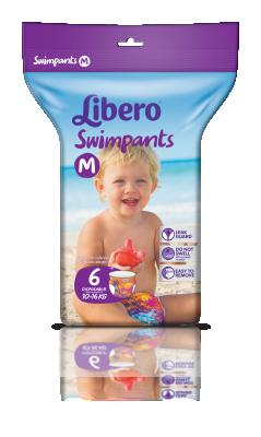 Еднократни гащички Lіbеrо Swimpants за плуване М 10-16кг