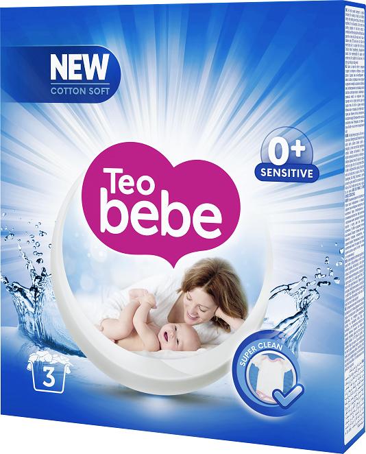 Прах за пране Teo bebe Blue бадем