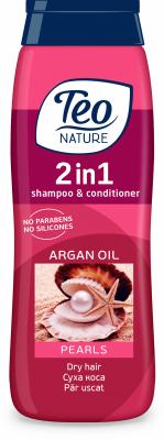 Шампоан Teo Nature Перли и арганово масло
