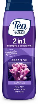 Шампоан Teo Nature Корали и арганово масло