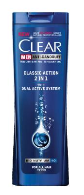 Шампоан Clear Men Classic 2in1